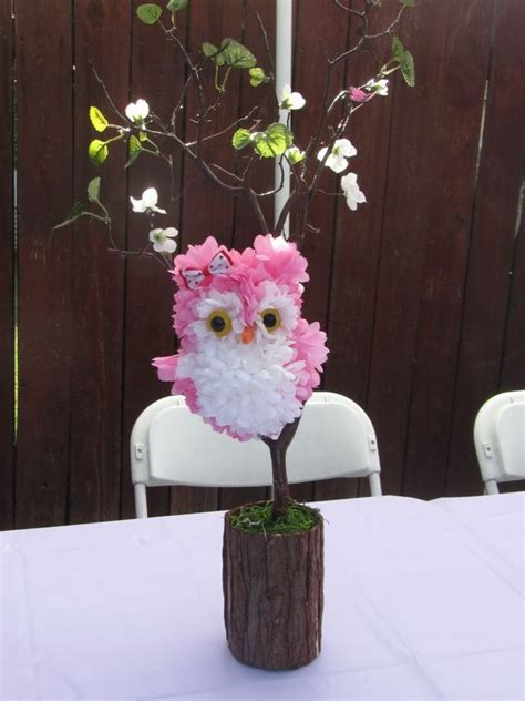 36 Best Baby Shower Decorations Images On Pinterest Baby Owl Themed Centerpieces