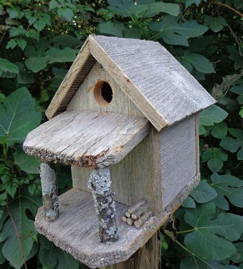 Rustic Country Cabin Birdhouse Bird Houses Pinterest Cabin Birdhouse Plans