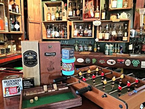 pub game 3 drink whiskey picture of leary s landing irish pub bar
