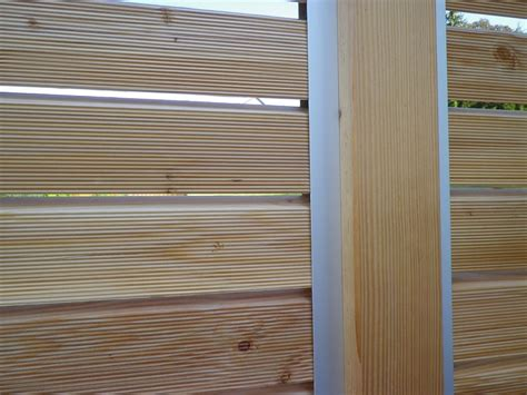 windschutz aus holz windschutz f r die terrasse aus holz