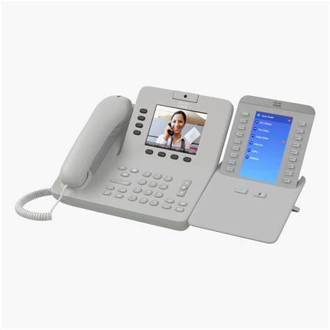 cisco desk phone models cisco unified ip phone 3d model