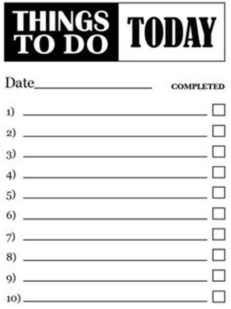 things to do list template pdf free printable and adobe on