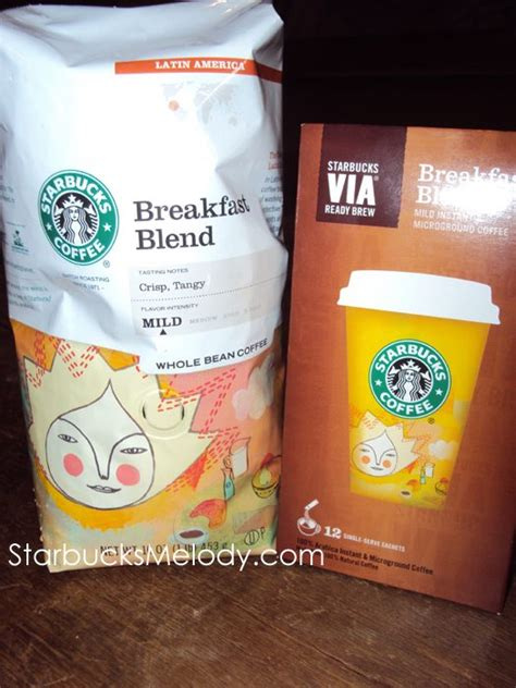 Kopi Starbucks Breakfast Blend Coffee Whole Bean starbucks breakfast blend via ready brew launches in the