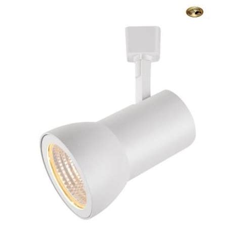 Dimmable Led Track Lighting Fixtures Hton Bay White Dimmable Led Large Cylinder Track Lighting Fixture 1616 Wh The Home Depot