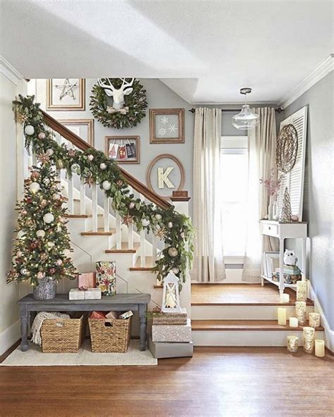 treppenhaus dekorieren treppenhaus weihnachtlich dekorieren und die g 228 ste