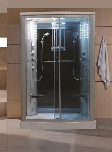 Ordinary Bathroom Shower Glass Door Price #8: Sliding-Door-Steam-Shower-Enclosure-Unit-Glass-Color-Blue.jpg