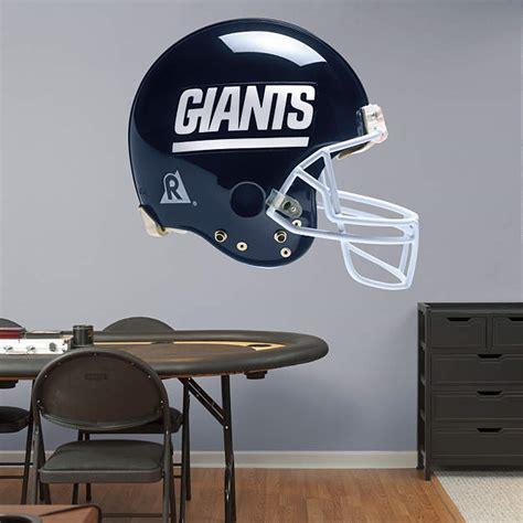 ny giants wall decor new york giants throwback helmet fathead wall decal