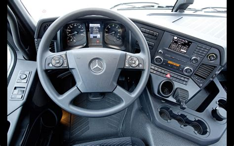 Truck Interior by 2013 Mercedes Arocs Truck Interior 1 1920x1200