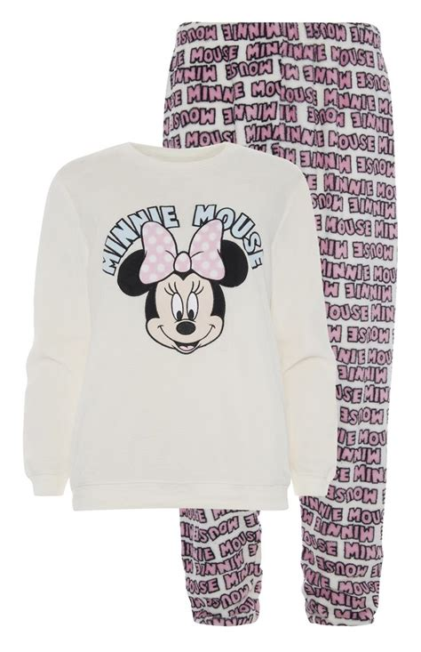 Minnie Mouse Piyama primark minnie mouse sherpa pj set wish mice products and minnie mouse
