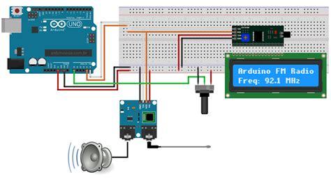 Tea5767 I2c Fm Stereo Radio Module For Arduino Chip Only como ouvir r 225 dio no arduino o m 243 dulo r 225 dio fm stereo