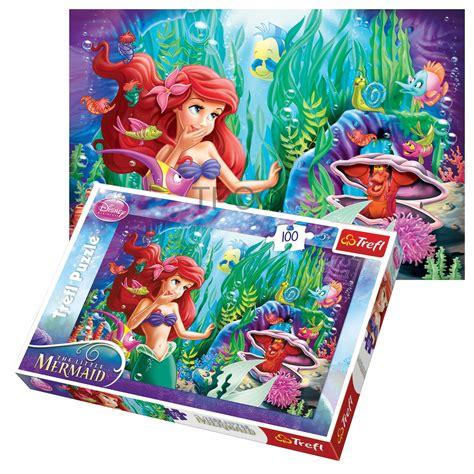Best Terlaris Puzzle Jigsaw Frozen 100 Pcs Sni trefl 100 unisex disney princess ariel