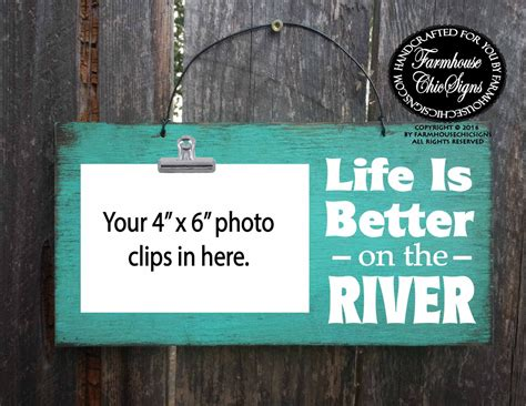 river house decor river decor river sign river river house river wall decor