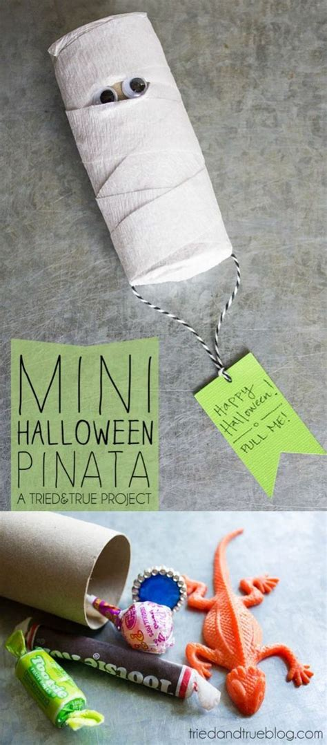 How To Make A Ton With Toilet Paper - diy mini pinata toilets and classroom