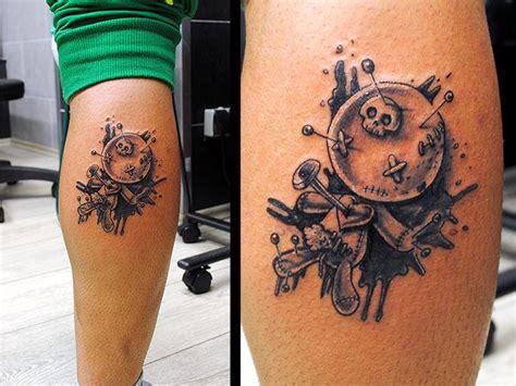 awesome voodoo doll tattoo tattoomagz