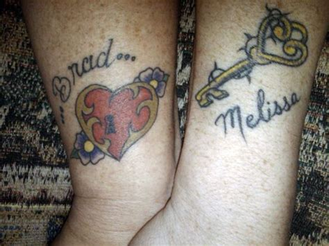 nice tattoo for couples a nice collection of couple tattoos 30 pics izismile com