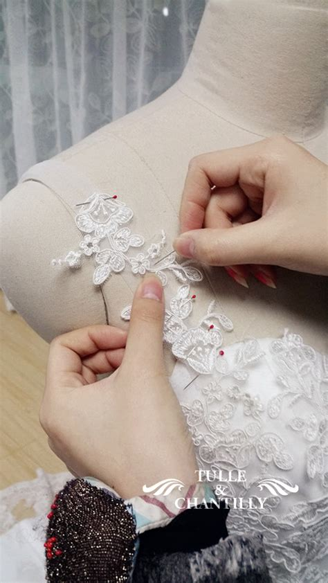 design your own wedding dress delicate customized