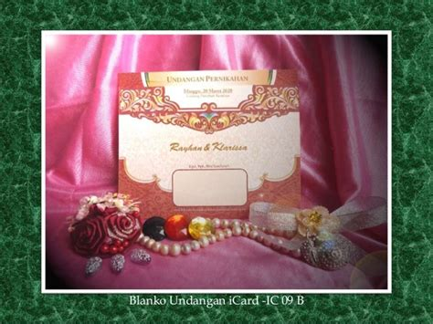 Blangko Undanganundangan Pernikahan Mir 13 price list undangan pernikahan icard wedding invitation blanko