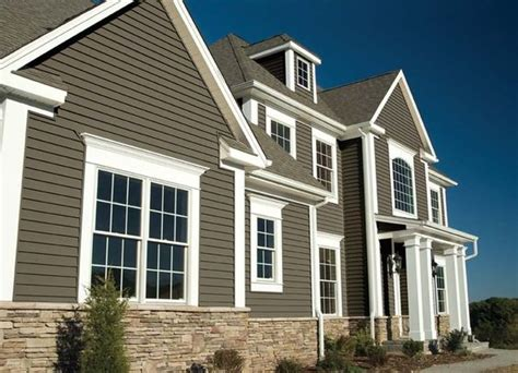 colors of vinyl siding vinyl siding color combinations sovereign select trilogy