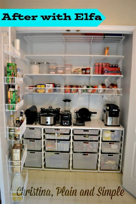 elfa pantry pin pantry cabinets on pinterest