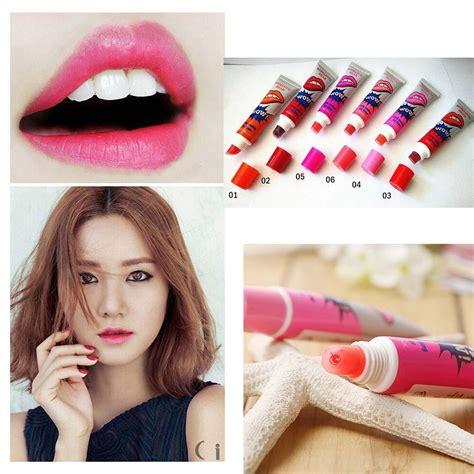 kiss me lip tint tattoo sydney 6pcs lot waterproof peel off lipstick tattoo magic color