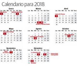 Calendario 2018 Usa Calendario 2018 Usa Con Feriados Para Imprimir