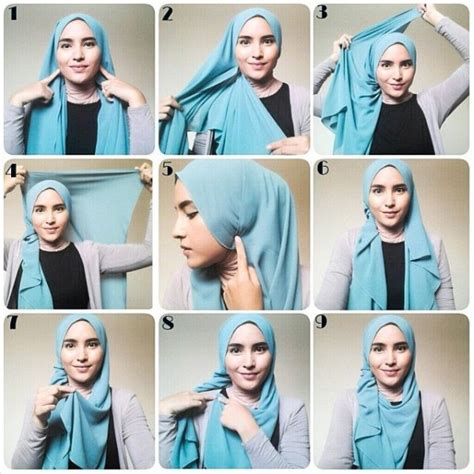 tutorial hijab trend 2017 latest beautiful hijab styles tutorial 2017 18 different