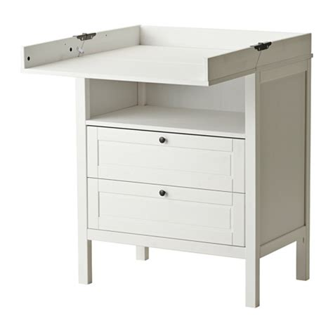 Change Tables With Drawers Sundvik Changing Table Chest Of Drawers Ikea