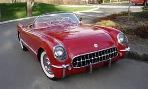 1954 chevrolet corvette aucton results 130 000