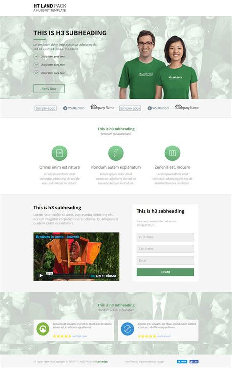 Ht Land Business Landing Page Templates Group Business Landing Page Template