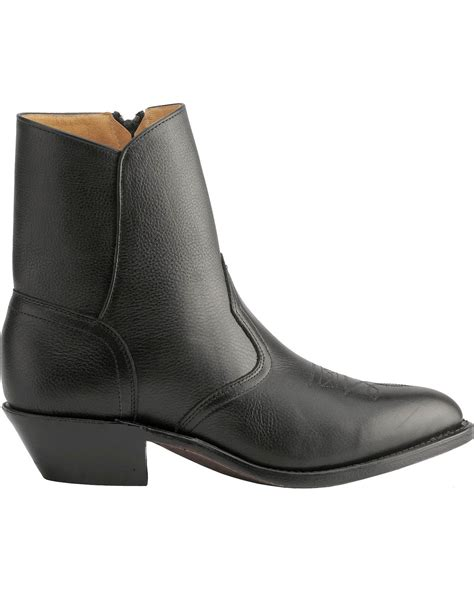 zipper boots boulet western zipper boots toe country outfitter