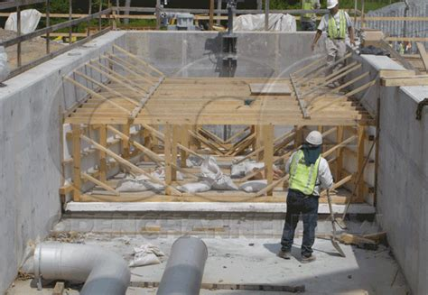 Cribbing Concrete by The Importance Of Cribbing A Flume