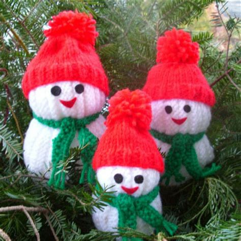 knitted snowman wonderful diy jolly knitted snowmen with free patterns
