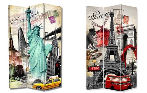 New York Room Divider Screen And New York Room Divider Screen Room Dividers Uk