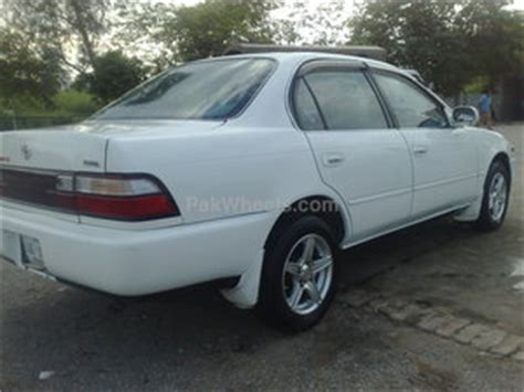 automobile air conditioning repair 1995 toyota corolla seat position control toyota corolla for sale in peshawar pak4wheels com buy or sell your car in pakistan