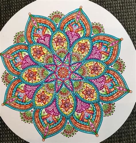 colorful mandala best 25 colorful mandala ideas on