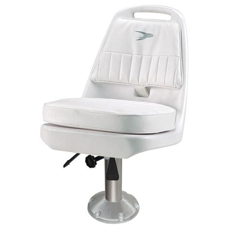 boat seat pedestal mounting plate wise 174 cushioned pilot chair with 15 quot fixed pedestal