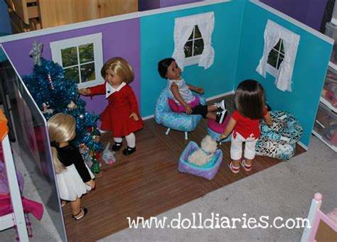 How To Make An Ag Doll Room by American Doll Room Giveaway And Review Doll Diaries