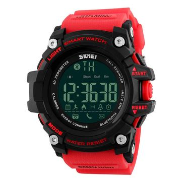 New Arrival Skmei S Shock Pedometer Sport Dg1112s Original skmei 1227 bluetooth smart call message notification