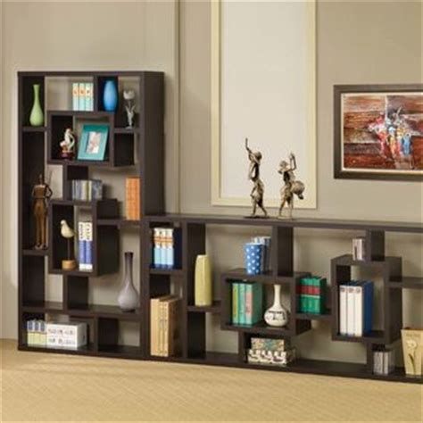 asymmetrical cube bookcase with shelves asymmetrical cube bookcase with shelves at brookstone buy now
