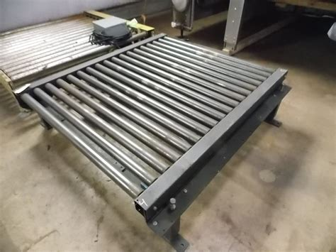 conveyor sections pallet conveyors several 5ft sections united food
