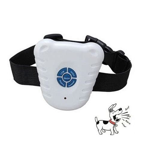 anti bark collar ultrasonic anti bark no stop barking collar device x ebay