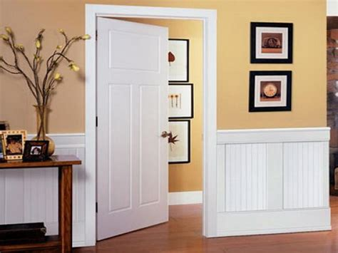 Lowes Beadboard Wainscoting by How To Install Wainscoting Lowes Your Home
