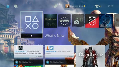 ps4 themes im store god of war ps4 dynamic theme released on european