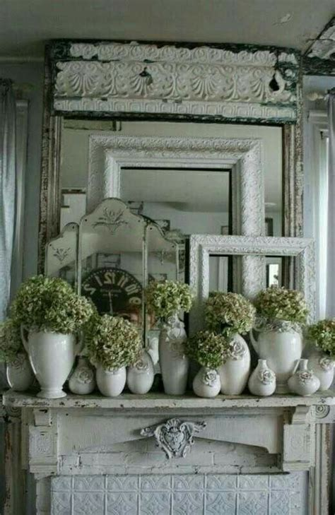 best 25 shabby chic mantle ideas on pinterest chabby chic living room vintage mantle and