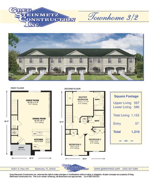 townhomes floorplans 171 home plans home design