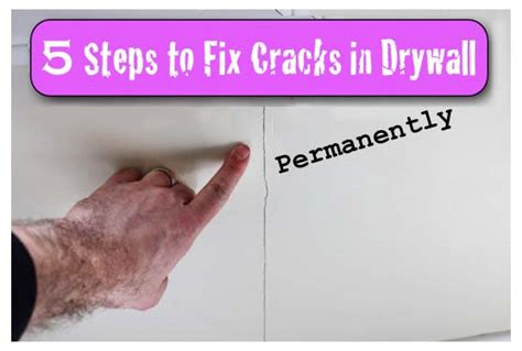How To Fix A L by Cracks In Drywall 5 Steps To A Permanent Fix With 3m