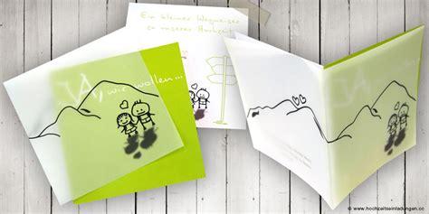 Hochzeitseinladung Berge by Locker Flocker Und Mit Pers 246 Nlicher Note Zur Hochzeit Einladen