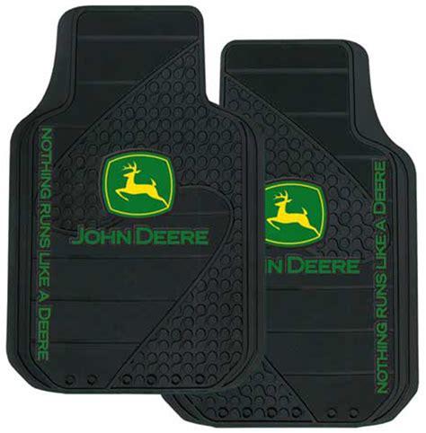 deere rubber floor mats pair xxx1326pc