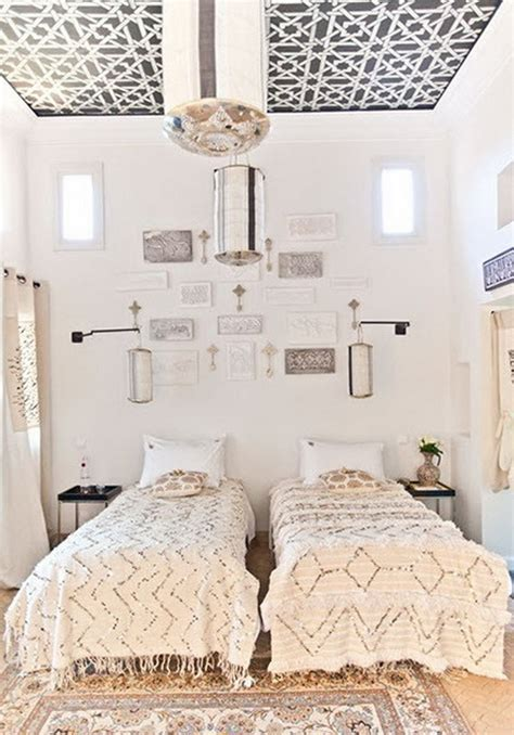 white moroccan bedroom moroccan style interior in the property