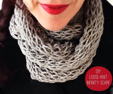 how to knit an infinity scarf for beginners how to make 41 easy and infinity scarves wear them